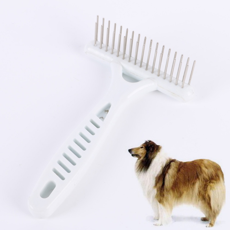 ①Útil perro gato largo corto pelo grueso Cepillos Pieles de ...