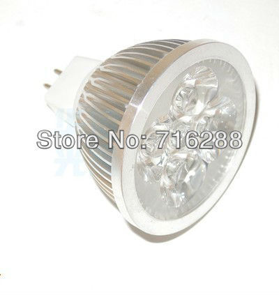 free shipping 50pcs 4w led dimmable spotlight/led dimmable spot lamp 2year warranty