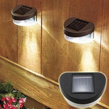 LED Lamp Garden Yard Wall Fence Lawn Landscape Solar Ni-MH Powered Light Home Drecoration Lampe Solaire Exterieur
