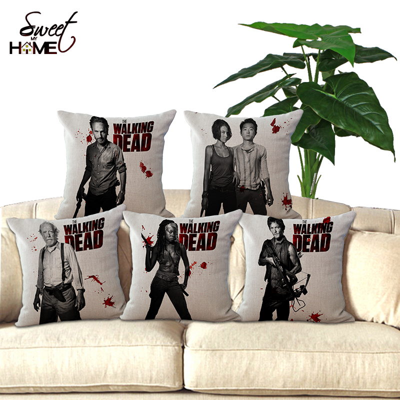 The Walking Dead Inspired Outlander Inspired Movies TV Shows PhoneeReaderKindleTablet Pillow Stand Choose Your Fabric