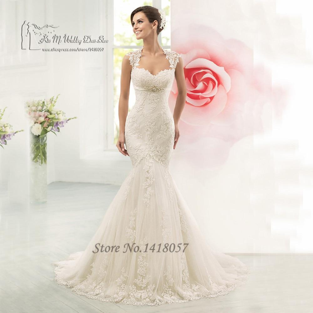 fc49640f1103 vestido de noiva sereia 2016 sexy christmas mermaid wedding dresses lace  backless bridal gowns applique women