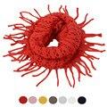 Luck Dog Decorative Tassel Scarf Collars Warm Wool Knit Scarf