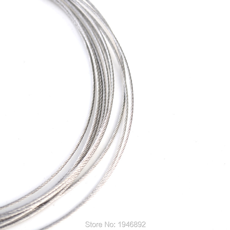 10m/lot 3mm High Stainless Steel Wire Rope Tensile Diameter 7X7 ...