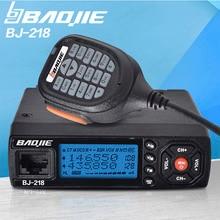 Sale! Car Walkie Talkie Radios Comunicador baojie bj-218 Long Range Mini Mobile Radio Transceiver VHF/UHF Ham CB Radio For Truck