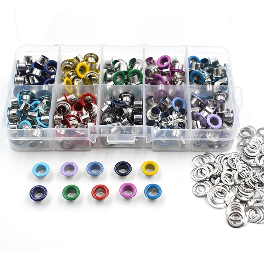 ALI shop ...  ... 32822473186 ... 2 ... Eyelets DIY materials color spray gas Rivets Color buttonholes Multicolor buckle Shoelaces eye Metal hole Eyelet tool ...