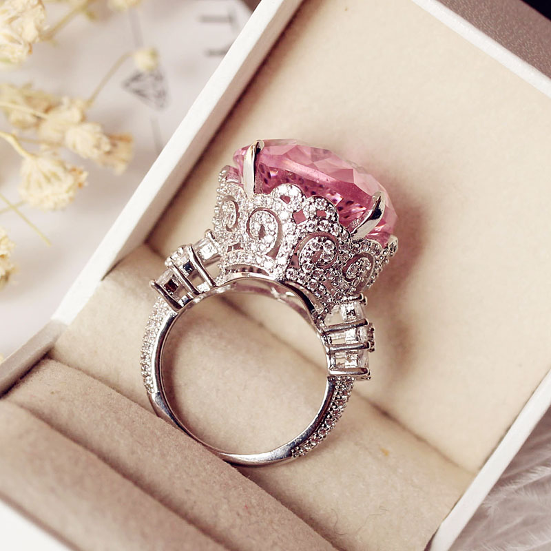 Cute Vintage Gemstone Engagement Rings