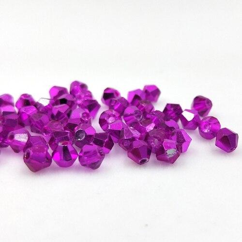 Новинка 5301 4 мм 1000 шт стеклянные кристаллы бусины биконус граненый свободный разделитель бисер бусины Fantas AB DIY Изготовление ювелирных изделий U выбор цвета - Цвет: 237