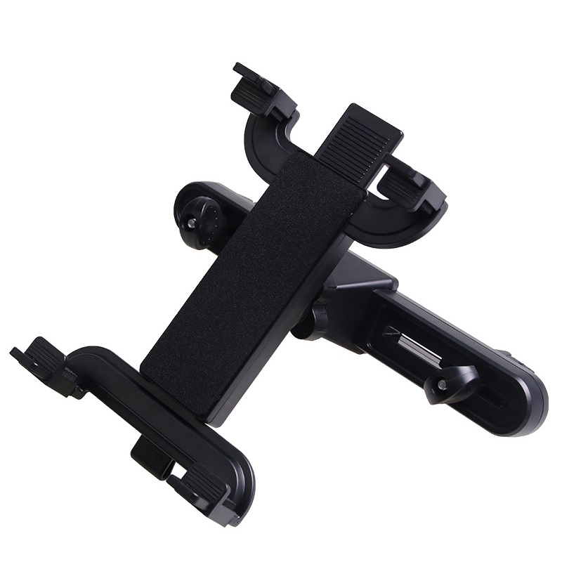 360 Rotation Car Back Seat Tablet Stand Headrest Mount Holder for 7-10 Inch Tablet GPS IPad Sumsung Tab Black