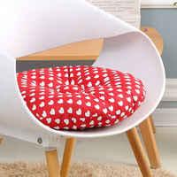 Almofada impressa colorida do assento para a cadeira decorativa sentado travesseiro cadeira redonda almofada do assento tatami almofada do quarto lance travesseiro