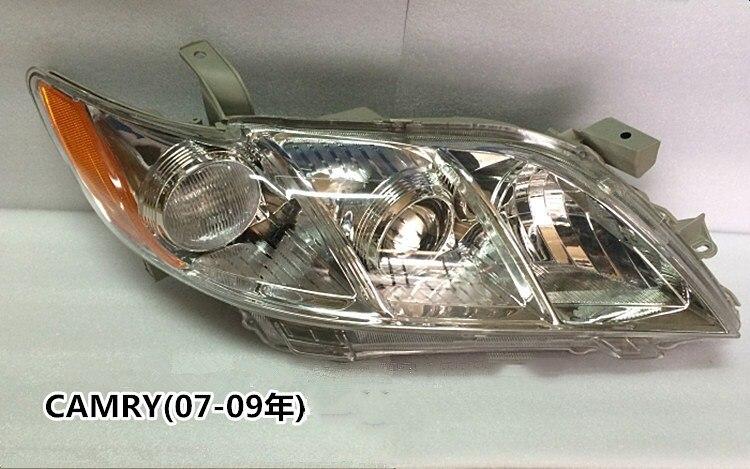 eOsuns headlight assembly for Toyota CAMRY 2007-2009 ACV40 USA ,2pcs