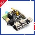 X200 Placa de Expansão para Raspberry Pi Modelo B + e Raspberry Pi 3/2 Modelo B/B +