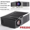 1080 P Full HD LED Проектор Портативный Проектор S200 800*600/480 Пикселей Высокая Яркость 2500 Люмен Домашний театр Двойной HDMI HDTV