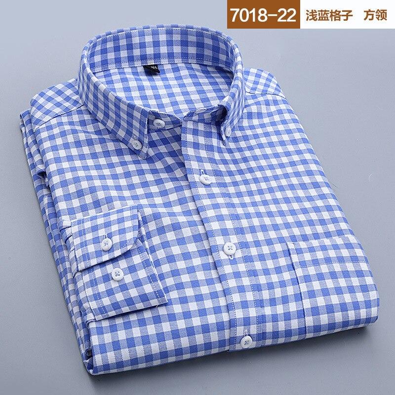 8 4 Coton Casual 5 10 Chemises Fit À De Nouveau 2017 Longues Haute 7 2 Slim 1 Qualité 3 Vêtements Manches Pm004 Carreaux Mode Hommes Mâle BYSqx1xwX