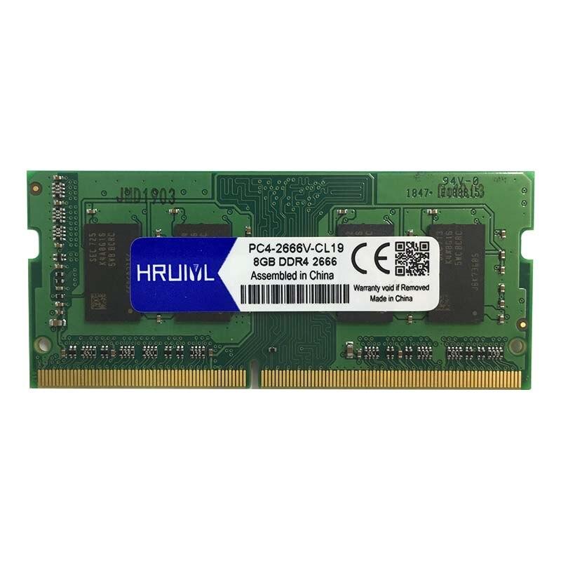 HRUIYL Laptop RAM Memory DDR4 With 4GB 8GB 16GB Memory Capacity 3