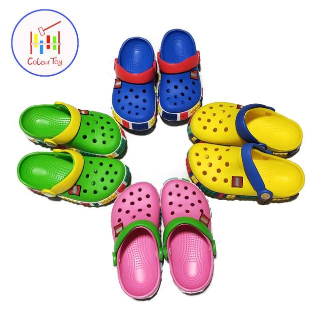 27dd3809f Мальчики Сандалии 2018 дети Ева шлепанцы тапочки для девочек летние детские  пляжная обувь для От 3