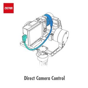 Image 4 - ZHIYUN Crane Plus Stabilizer 3 Axis Quick Balance Motorized Gimbal for Mirrorless Camera DSLR, Support 2.5KG POV Mode Handheld