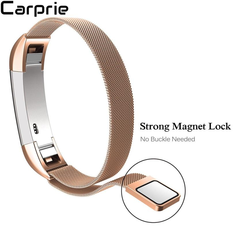 Best price ! Magnetic Loop Stainless Steel Smart Watch Band For Fitbit Alta HR strap top quality drop shipping 2apr10