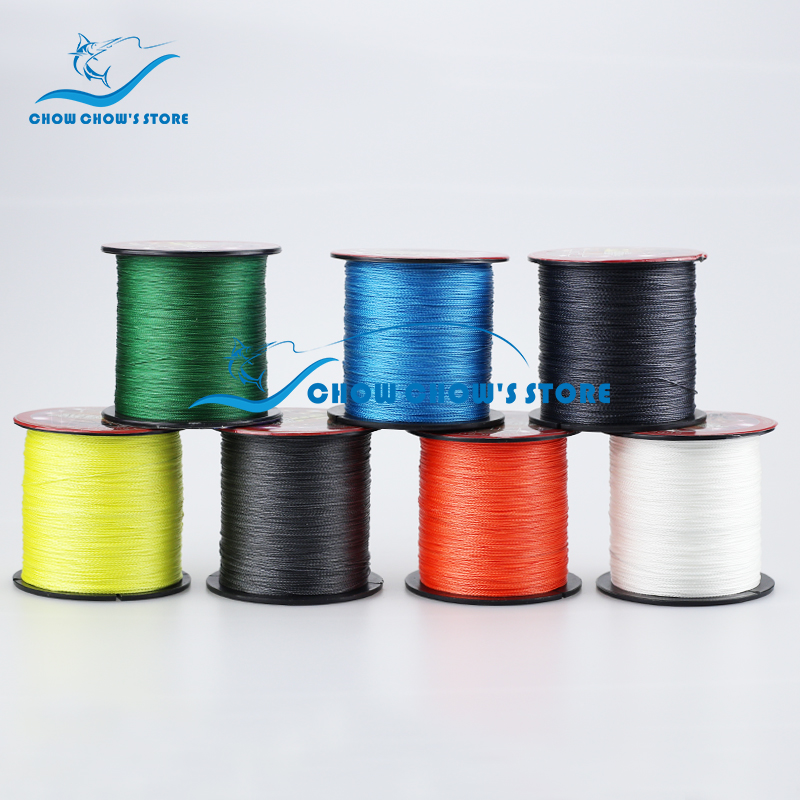 Multifilament PE Braided Line 4 Weaves Fishing Line 300M 8 60LB Fishing tackle linha multifilamento para pesca All For Fishing|line life|line bearing|line eyeliner - title=