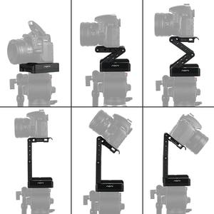Image 1 - Andoer z shaped Flex Tilt głowica statywu 360 stopni płyta szybkiego uwalniania stojak do montażu na stojaku Canon Nikon Sony Pentax lustrzanka cyfrowa