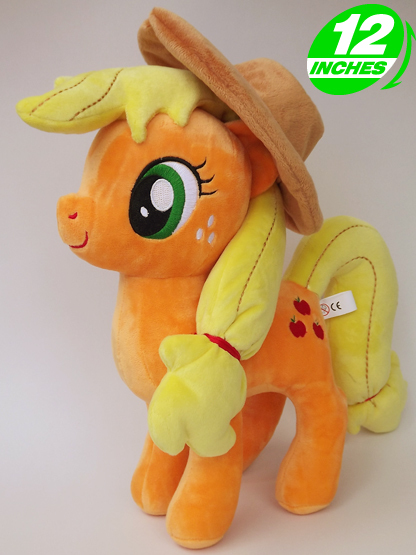 Ty Beanie Boos Big Eyes Soft Stuffed Animal Unicorn Horse  Plush Toys Doll Apple Jack