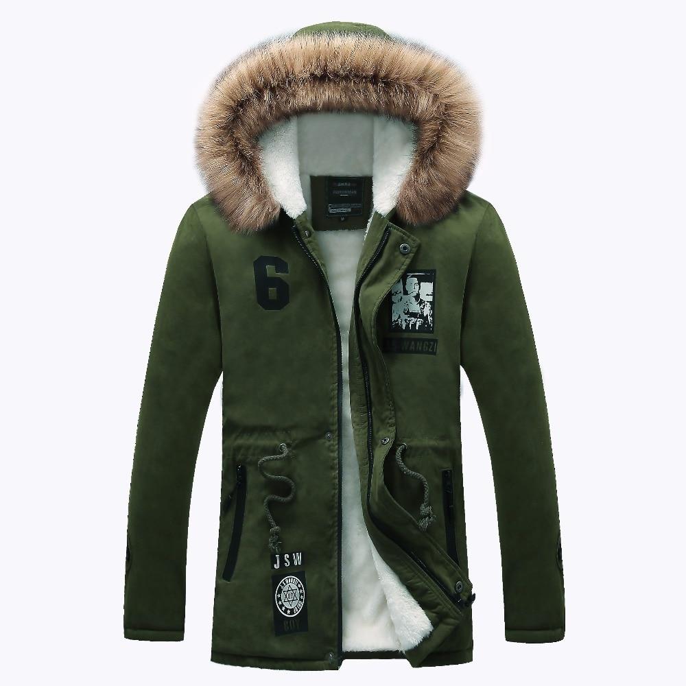 Новинка 2017 мужские зимние меховые куртки и пальто Модные Повседневные капюшоном утолщение Пальто 3 вида цветов M-4XL ayg157