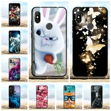For Xiaomi Redmi Note 6 Cover Soft TPU Silicone For Xiaomi Redmi Note 6 Pro Case Animal Patterned For Redmi Note 6 Pro Shell Bag все цены