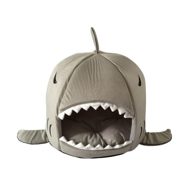 Shark Dog Cat Bed Warm Pet Cushion Pet Mat Dog Kennel Furniture Doggie  Kennel Pet Bed For Small Medium Dogs In Houses, Kennels U0026 Pens From Home U0026  Garden On ...