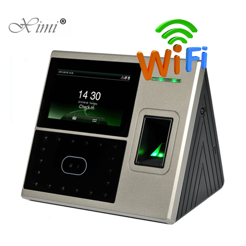 1200 User Uface800 Face And Fingerprint Time Attendance And Access Control System With WIFI Fingerprint Time Clock Time Recorder