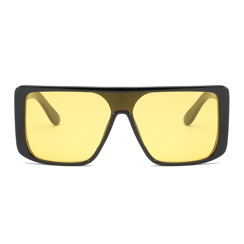 8ac0b142ed07 Big Steampunk Sunglasses Night Vision Women Men Oversize Driving Retro  Vintage