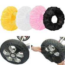 2pcs a set  Baby Carriage wheel cover Pram Pushchair mosquito net 12-25 CM width Wheelchair Stroller dust-proof Wheels Co