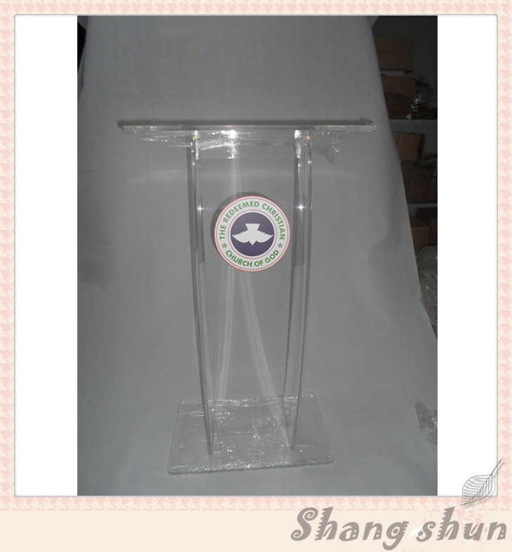 Modern Acrylic Podium Acrylic Podium Stand Acrylic Church Pulpit Pulpit For Church Classroom Lectern Podium church pastor the church podium lectern podium desk lectern podium christian acrylic welcome desk front desk