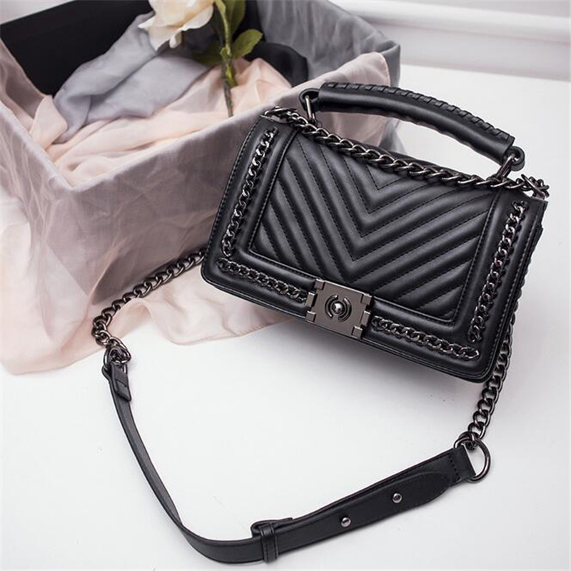 handbag red blue black white gray 5 color shoulder bag sac a main femme sac a main femme de marque luxe cuir 2016 in crossbody bags from luggage - Sac A Main Color