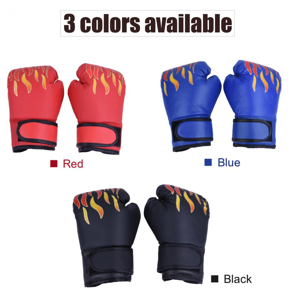 Boxing-Gloves Punching Sparring Muay-Thai Training Kids Child Professional Breathable