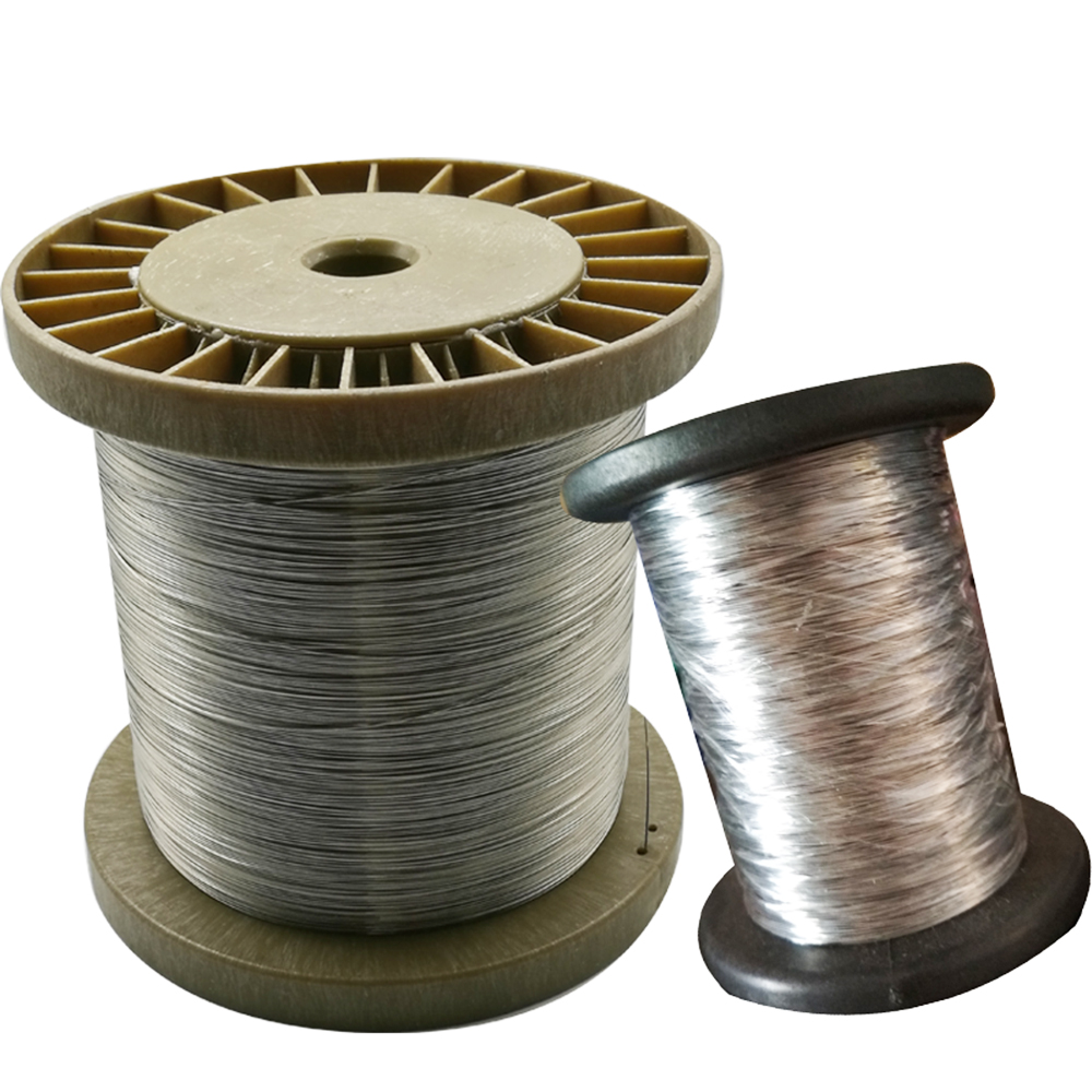 100M/Roll Single Structure AISI 304 0.3mm Diameter Stainless Steel ...