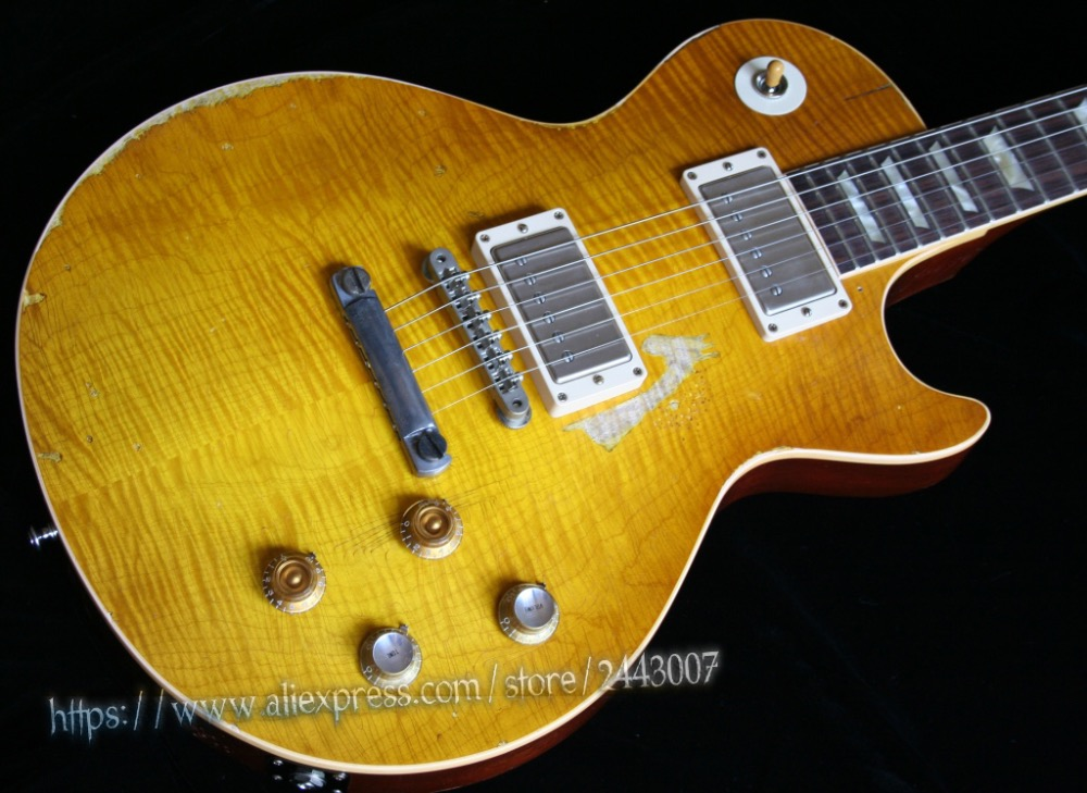 GC Collectors Choice Number One Edition 1959 Aged/Relic Gary Moore & Peter Green Electric Guitar gc collector s choice 8 1959 bernie marsden the beast electric guitar dirty lemon