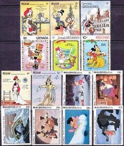 Image 3 - 50 قطعة/الوحدة ، كل جديد الكرتون الطوابع البريدية من بلد كثيرة في حالة جيدة لجمع كل كبيرة.