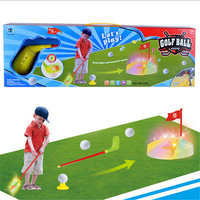 Outdoor Fun Sports Kids Golf Toy Set With Sound And Light Parent Child Toys Early Educational