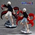 Kotobukiya Limited Edition of Collectibles Gift Tokyo Ghoul Action Figure Anime Mask Ken Kaneki Melanism Model Toy 22cm