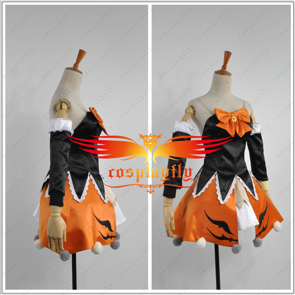 vocaloid hatsune miku nendoroid halloween version miku cosplay costume custom made sexy mini skirt with stockings w0531 on aliexpresscom alibaba group
