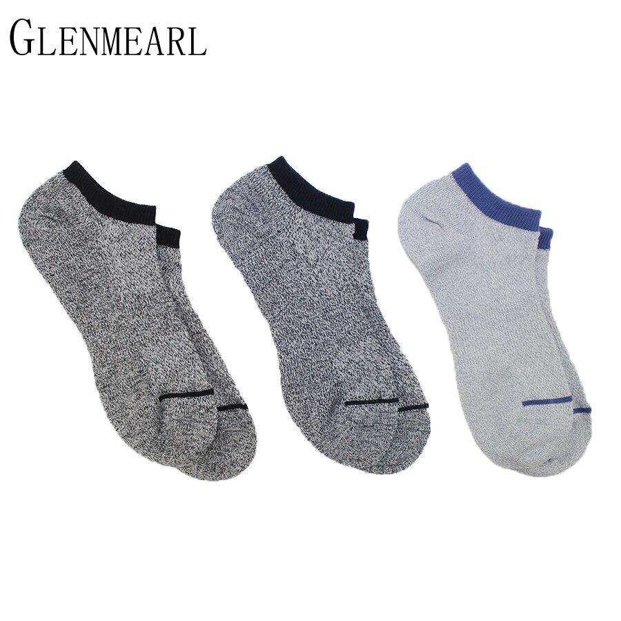 6 Pair/Lot Cotton Men Socks Set Retro Summer Spring Fall Brand Breathable Coolmax Fashion Ankle Boat Slipper Socks For Male