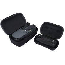 2in1 MAVIC PRO Sturdy Transportable Hardshell Transmitter Controller Storage Field + Fuselage Housing Bag Case COMBO for DJI MAVIC PRO