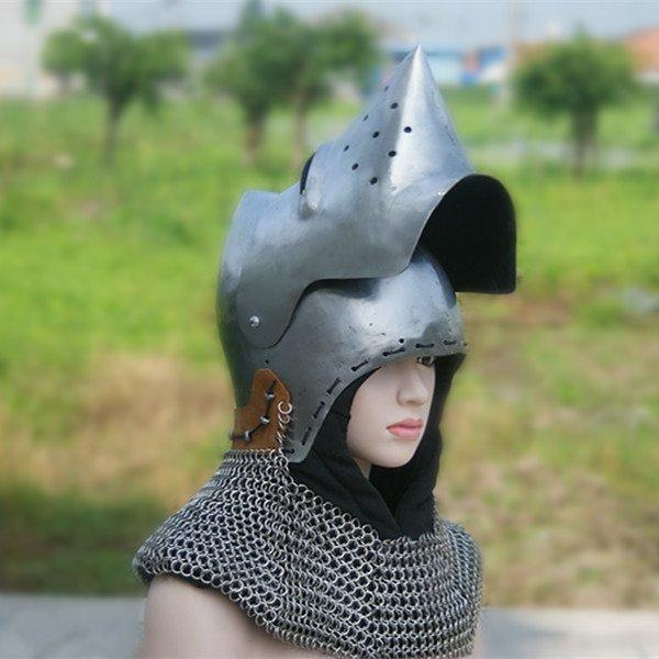 Placa de armadura Medieval cavaleiros capacete forro arma fria Mount & Lâmina Decoração livro 15 dias de entrega