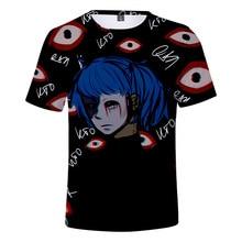DLF 4-20 New  2019 Game Sally Face Shirt 3D Full Print Harajuku Streetwear Fashion Tees Summer Tops Girls Tshirt Hiphop