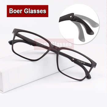 New Sport Men\'S Adjustable Temple Full Rim Light Weight TR90 Eyeglasses Square Eyewear Prescription Eye Glasses Rxable 6010 - DISCOUNT ITEM  39% OFF Apparel Accessories