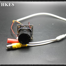 HKES 12pcs/lot 2MP Full HD 1080P AHD Camera Mini Camera Module with 3MP Lens 16mm