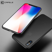 Original CAFELE Phone case for iphone 8 Ultra Thin Cute colors PP cases Apple Fashion flexibility back Case