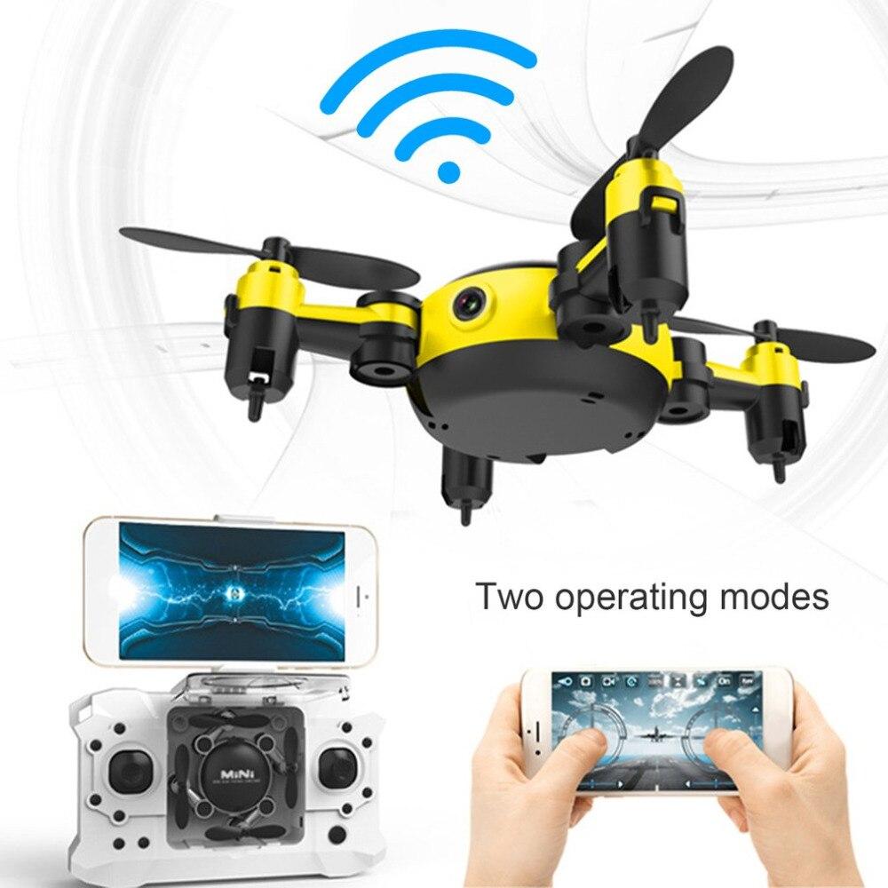 Quadrocopter Dron 2017 WiFi Pocket מזל