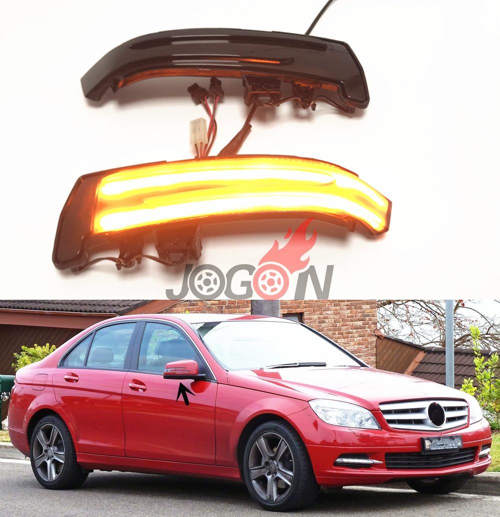 Clignotant indicateur de clignotant dynamique de LED pour Mercedes Benz A B C E S CLA GLA CLS classe W176 W204 W212 X156 X204 W221