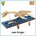 Г-н Froger Plesiosaur LOZ Алмазные Блоки Игрушки Для Детей Динозавров Череп Ископаемого Плезиозавр Пластиковые Модели Игрушка Кирпичи Классические