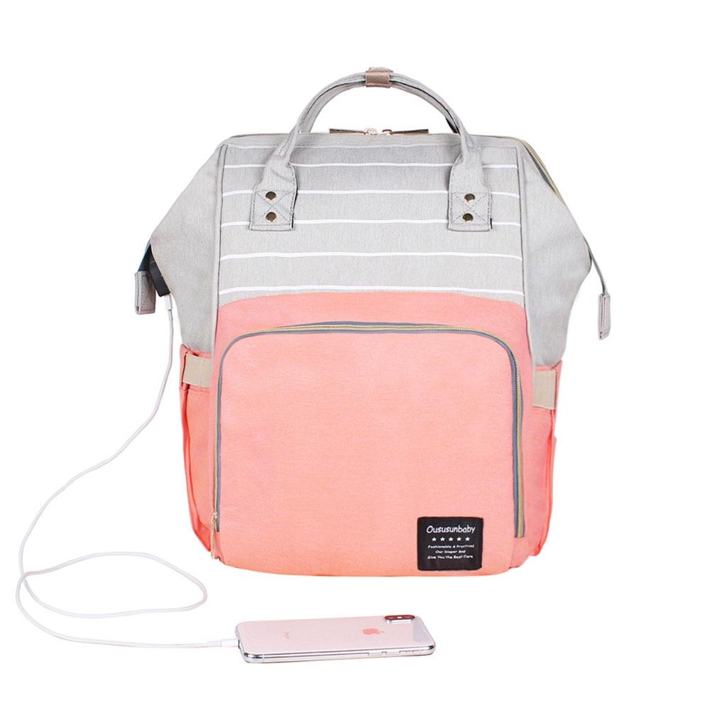 USB Pink Gray